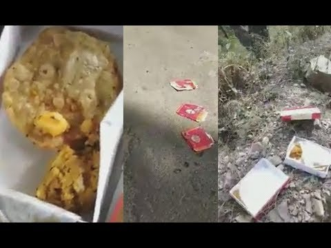 Employees on Election Duty in Pachhad Throw Away Food Alleging Poor Quality