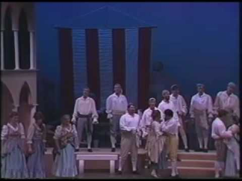 "Singing ""Gianetta"" -- Act 1 Finale from The Gondoliers by Gilbert and Sullivan.  Ambassador Auditorium, Pasadena, CA"