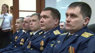 Губернатор наградил военнослужащих и инженеров, участвовавших в спецоперации в Сирии