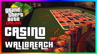 How To Get Inside The CASINO in GTA 5 Online   New Secret Wallbreach Location Glitch!
