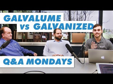 Galvalume® vs. Galvanized: Which is Better?