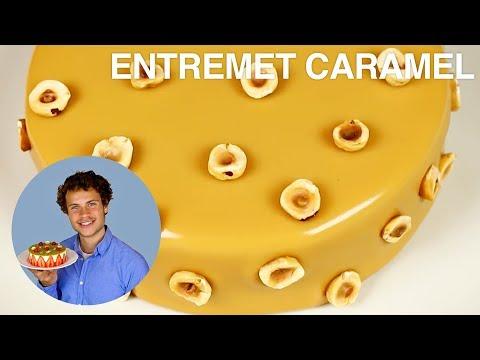 ENTREMET NOISETTES-CARAMEL