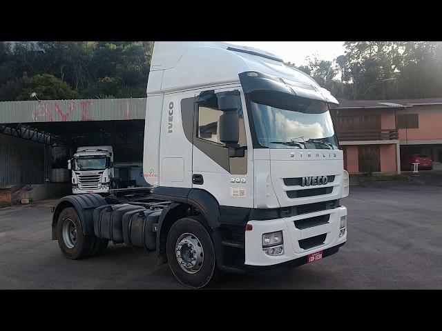 Vídeo do caminhão Stralis 380 4x2