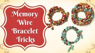 Memory Wire Bracelet Tricks