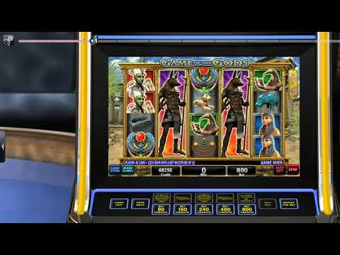 IGT Slots Game of the Gods gameplay