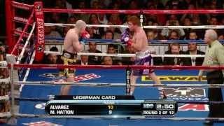 Saul Canelo Alvarez vs Matthew Hatton HD