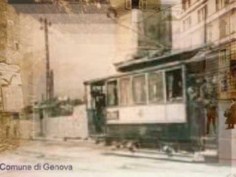 Genova - Sampierdarena: l'antica rete tranviaria. Prodotto da Annalisa Palladino