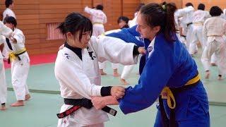 Реальное дзюдо в японской старшей школе. Наши спортсмены на сборах в Японии