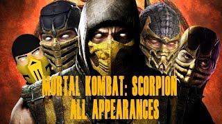 Mortal Kombat Scorpion Appearances MK1 - MKX