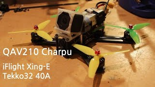 Making an Old FPV Drone Great Again - QAV210 Charpu