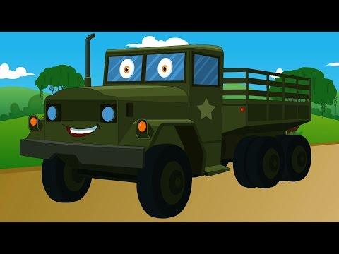 army truck | vehicles kids | autos for kids