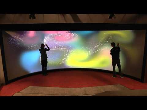 University's 'Mega Touchscreen' Can Sense Over 100 Simultaneous Touches