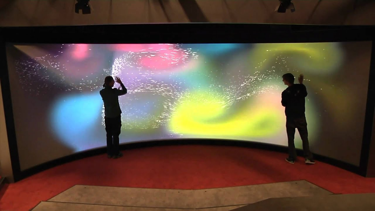 University's 'Mega Touchscreen' Can Sense Over 100 Simultaneous Touches