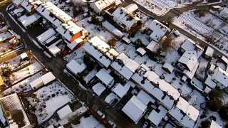 preview picture of video 'Feldkirchen-Westerham im Winter aus der Luft vom DJI Phantom Vision'