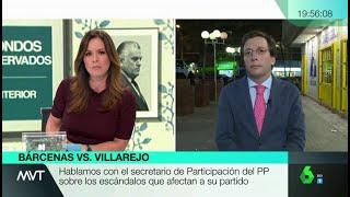 """Martínez-Almeida: """"Pactaría con una fuerza que impidiera el gobierno de la izquierda radical"""""""