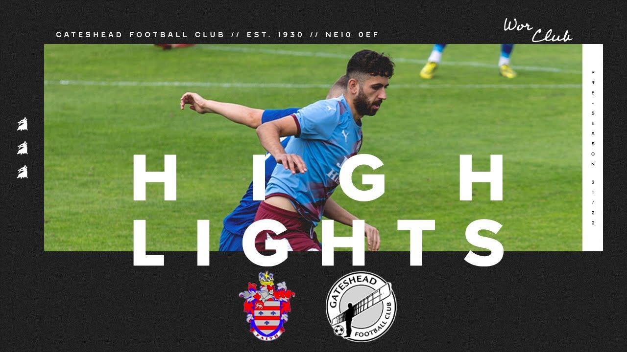 Billingham Town 0-2 Gateshead FC