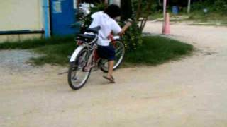preview picture of video 'velo electrique children  test electric bicycle july 2008'