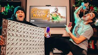 We BINGE-WATCHED The Clone Wars in ONE WEEKEND