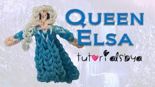 {Disney Princess Series} Queen Elsa Figurine/Action Figure Rainbow Loom Tutorial