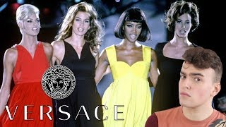 How Versace Created The Supermodels (Versace Fall 1991 Fashion Analysis)