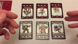 "Citadel Combat Cards - Review and ""How to Play"""