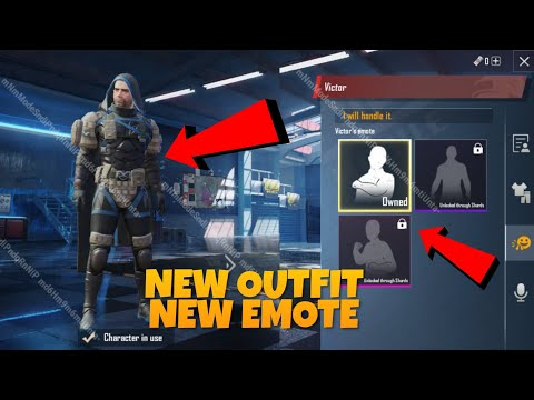 NEW VICTOR CHARACTER EVENT UPDATE | NEW EMOTE, NEW OUTFIT, NEW VOICE MESSAGE new victor character