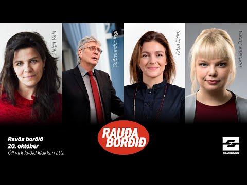 Rauða borðið: Átakalínurnar í stjórnmálunum