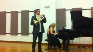 Stefan Dohr plays Strauss' Horn Concerto No.1 at the Masters of Brass concert!