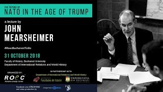 John Mearsheimer - The Future of NATO in the Age of Trump   ROEC