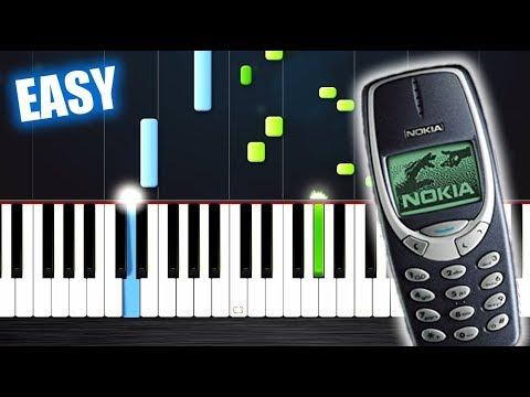Nokia Ringtone - EASY Piano Tutorial by PlutaX