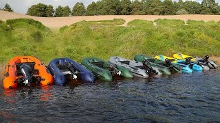 Все модели лодок badgers