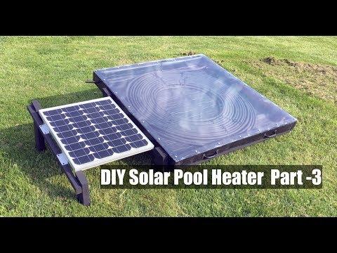Diy Solar Pool Heater Part 4 Diy Tube