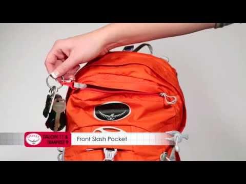Vídeo - Mochila de Hidratação Osprey Talon 11