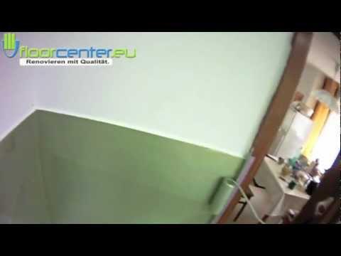 wandgestaltung abwaschbare farbe ideen f r fliesenspiegel k che bad flur treppenhaus zimmer. Black Bedroom Furniture Sets. Home Design Ideas