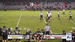 Rochester Varsity Football vs Manchester