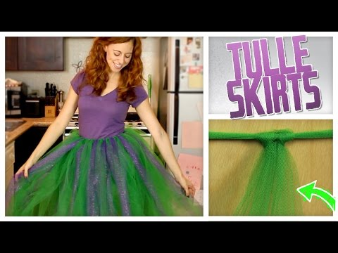 DIY No-Sew Tulle Skirt! - Do It, Gurl