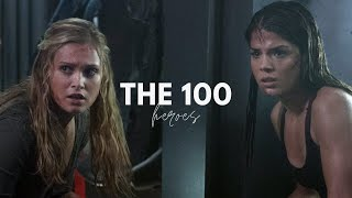 The 100- Heroes (+S4)