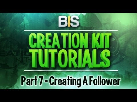 Tutorial] How to Make an NPC Follower :: Skyrim Creation Kit (Public)
