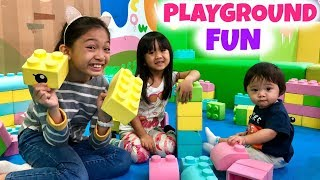 FUN INDOOR PLAYGROUND with BABY TRAVIS