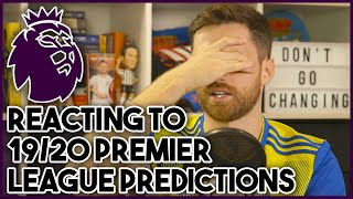 It's that time again! I'm reacting to my Premier League Predictions for the 2019/20* season and let's just say the results are...interesting, ► Subscribe: http://bit.ly/subSPEN ► Watch me LIVE on Twitch: http://twitch.tv/SpenFC ► Follow me on Twitter! - http://twitter.com/SpencerOwen ► Follow me on Instagram! - http://bit.ly/spengram ► Hashtag United channel - http://youtube.com/hashtagunited ► Buy Hashtag United merch! http://hashtagutd.com  Music by Epidemic Sound.
