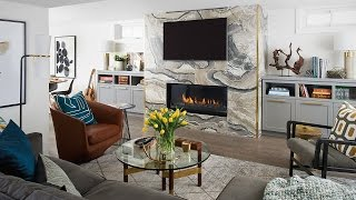Interior Design — Elegant Basement Makeover