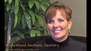 Preview of a video testimonial from an actual WildeWood Aesthetic Dentistry patient, Debra