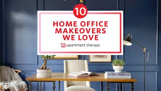 10 Home Office Makeovers We Love |  Before & After | Apartment Therapy