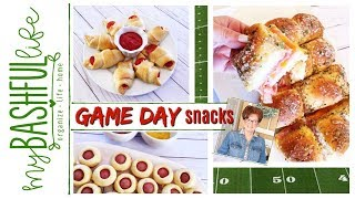 Game Day Snacks / Party Recipes