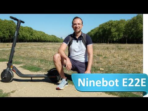 Ninebot E22E - Test de la nouvelle trottinette électrique Segway