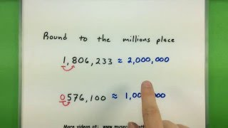 Basic Math - Rounding numbers to a specific place value