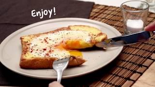 วิธีทำ Egg Cheese Toast อาหารอร่อยทำง่ายๆ