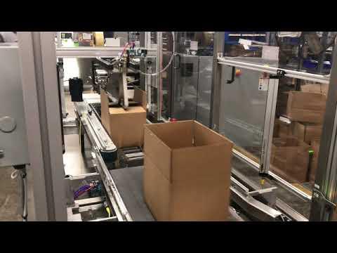 Selladora de cajas Aleatoria para el alto y ancho de la caja TBS-100FC XL