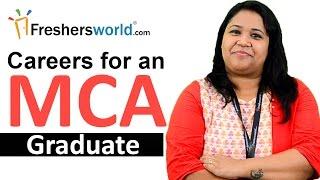 Career and Scope for an MCA Graduate – List of Job profiles, Salaries, Institutes