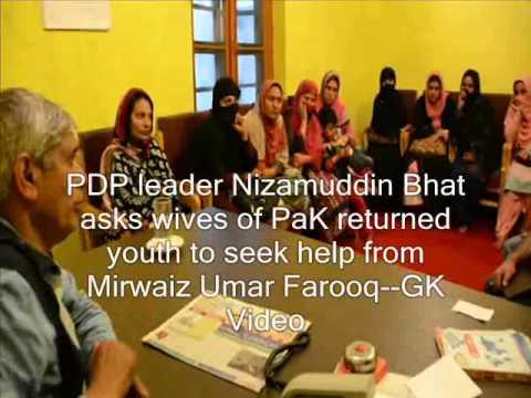 PDP leader asks PaK women to seek help from Mirwaiz